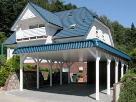 Holzkontor Kuhlenfeld, Überdachungen, Carports