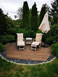 Holzkontor Kuhlenfeld, Terrassendielen, Gartenholz, Gartengestaltung