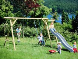 Schaukel, Rutsche, Kinderspielgeräte