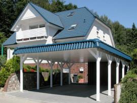 Holzkontor Kuhlenfeld, Carports, Holz