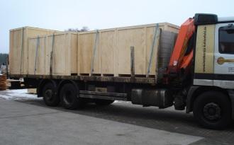 Transportkiste, Versandkiste, Holzverpackung