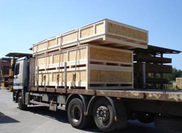 Holzkiste, Transportkiste, Transportpaleten, Verpackungskisten