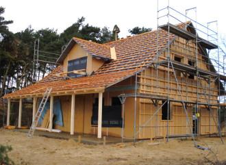 Holzhaus, Holzrahmenbau, Holzrahmenhaus