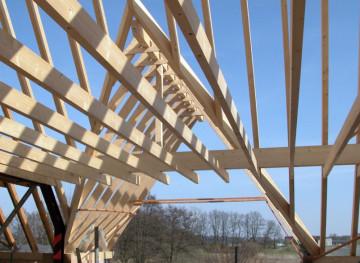 Dachstuhl, Planung, Gaube, CNC-Abbund
