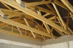 Pultdachbinder, Nagelplattenbinder als Pultdach