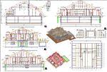 Planausgabe, Werkplanung, Holzbau