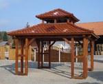 Pavillon, CNC Abbund, Holzbau, Bausatz